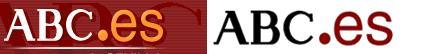 Evolución del logotipo de ABC.es.
