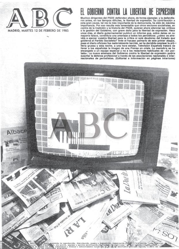 Ataques a la TV
