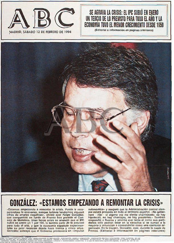 Felipe y la crisis
