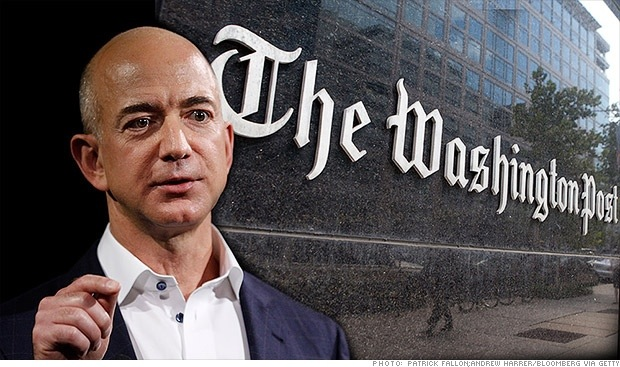 5 claves sobre la compra de The Washington Post por Jeff Bezos (Amazon)