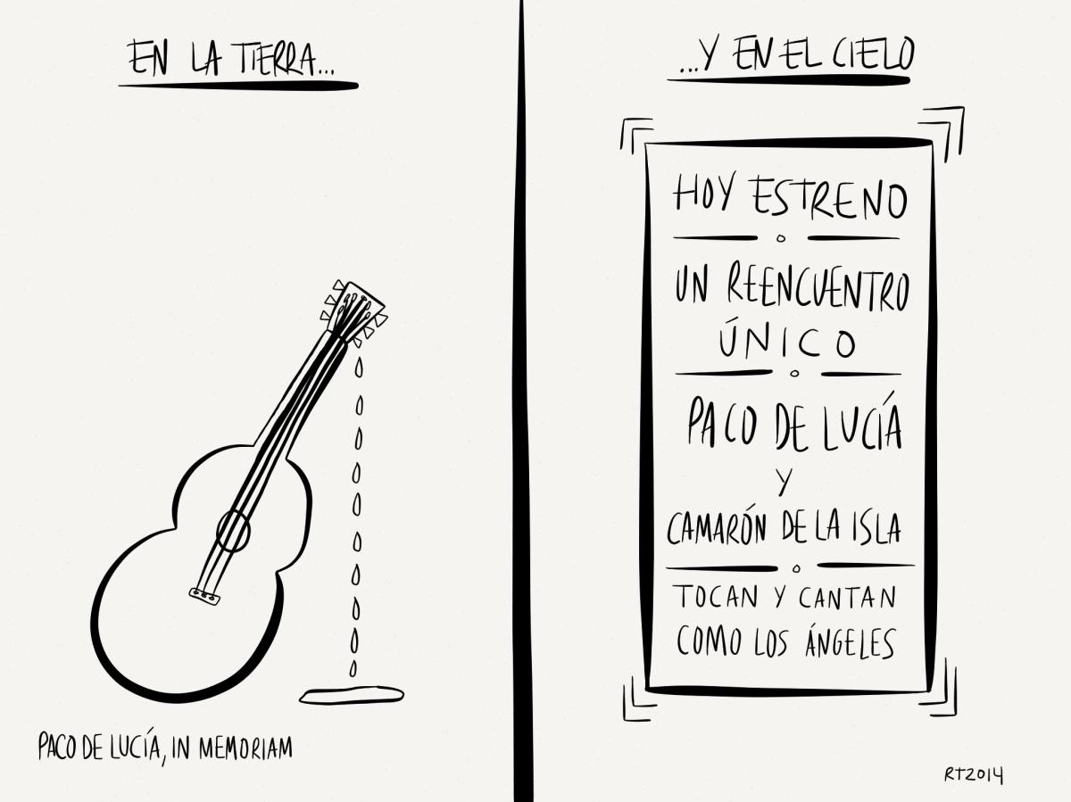 VIÑETA: Paco de Lucía, InMemoriam